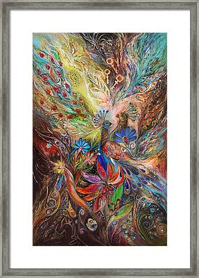 The Three Keys Framed Print by Elena Kotliarker
