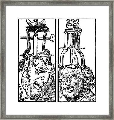 Trepanning 1525 Framed Print by Science Source