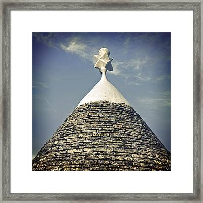 Trullo Framed Print by Joana Kruse