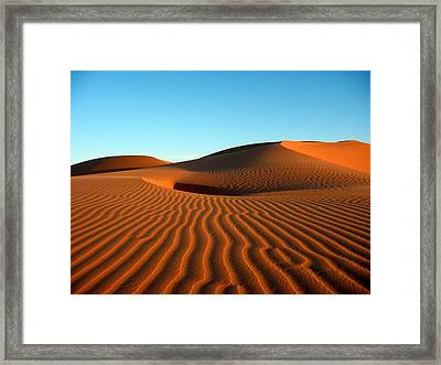 Ubari Sand Sea, Libya Framed Print by Joe & Clair Carnegie / Libyan Soup