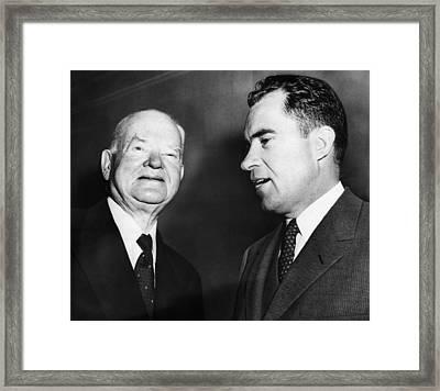 Us Presidents. Former Us President Framed Print by Everett