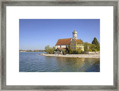 Wasserburg Framed Print by Joana Kruse