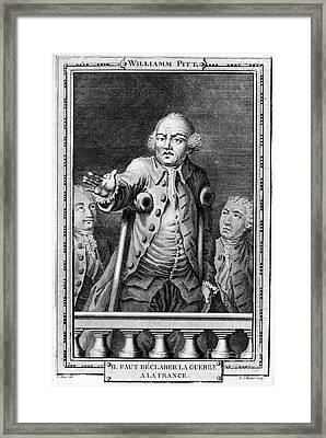 William Pitt (1708-1778) Framed Print by Granger