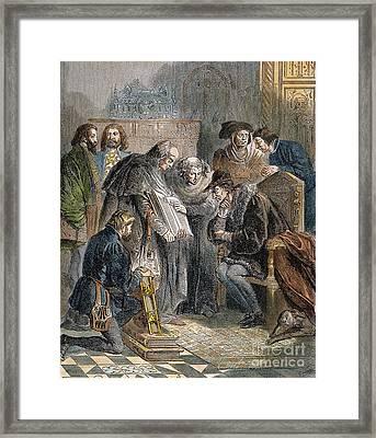 William Tyndale (1492?-1536) Framed Print by Granger