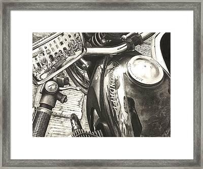Zundapp K800 Framed Print by Norman Bean