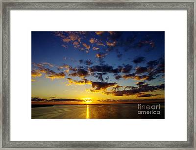 2012 Begins Framed Print by Don Youngclaus