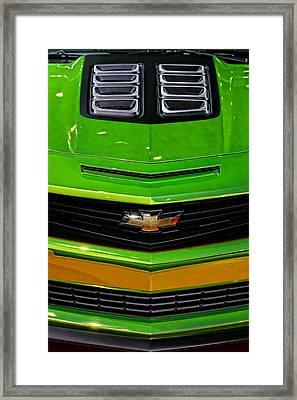 2012 Chevy Camaro Hot Wheels Concept Framed Print by Gordon Dean II