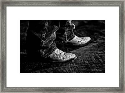 20120928_dsc00448_bw Framed Print by Christopher Holmes