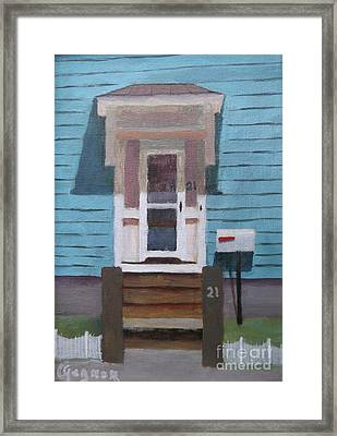 21 Wonson St Framed Print by Claire Gagnon