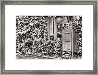 22747 Bw Framed Print by JC Findley