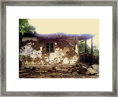 230 Years Old House Framed Print by Romeo Popescu