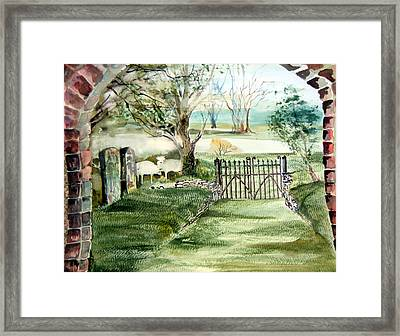 23rd Psalm Framed Print by Mindy Newman