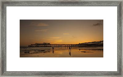 Hastings Pier Framed Print by Dawn OConnor