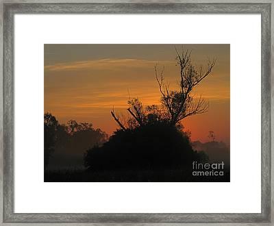 Sunset Framed Print by Odon Czintos