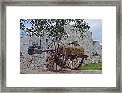 Alberobello - Apulia Framed Print by Joana Kruse