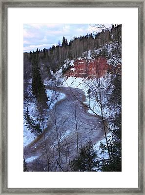 Amata River Framed Print by Igors Parhomciks