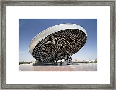 Baghdad, Iraq - A Great Dome Sits At 12 Framed Print by Terry Moore