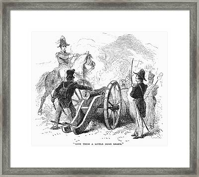 Battle Of Buena Vista Framed Print by Granger