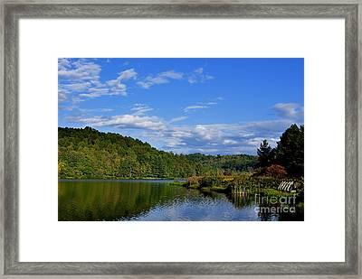 Big Ditch Lake Framed Print by Thomas R Fletcher