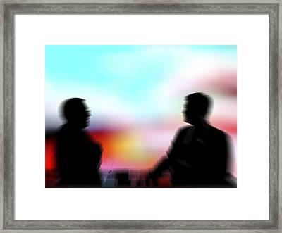 Businessmen Framed Print by Pasieka