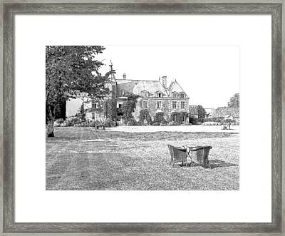 Chateau De Saint Paterne Normandy France  Framed Print by Joseph Hendrix