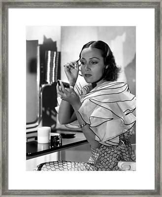 Dolores Del Rio, Ca. 1930s Framed Print by Everett