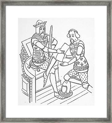 Edward IIi (1312-1377) Framed Print by Granger