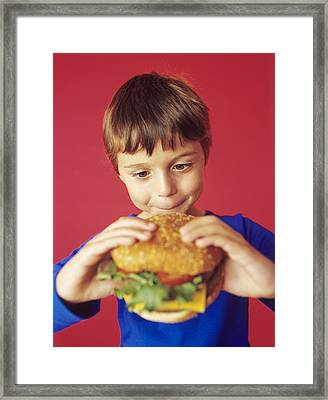 Fast Food Framed Print by Ian Boddy