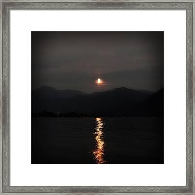Full Moon Framed Print by Joana Kruse