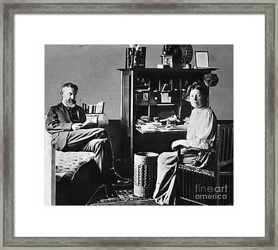 George Bernard Shaw Framed Print by Granger