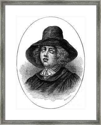 George Fox (1624-1691) Framed Print by Granger