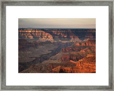 Grand Canyon Framed Print by Aurica Voss