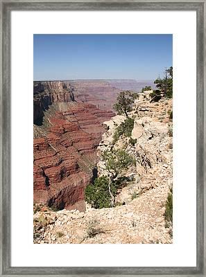 Grand Canyon National Park Arizona Usa Framed Print by Audrey Campion