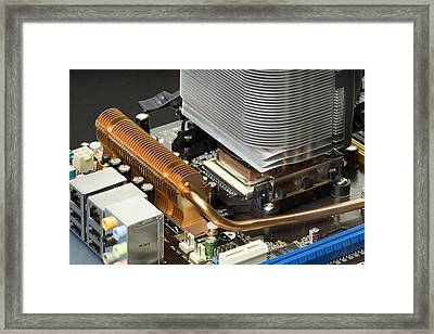 Heat Sink Framed Print by Paul Rapson