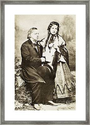 Henry Ward Beecher Framed Print by Granger