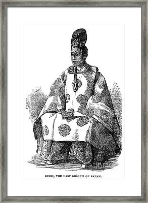 Hitotsubashi (1837-1913) Framed Print by Granger
