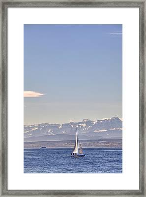 Lake Constance Framed Print by Joana Kruse