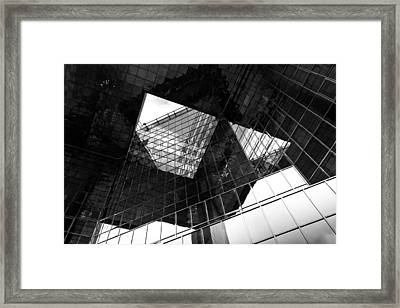 London Southbank Abstract Framed Print by David Pyatt
