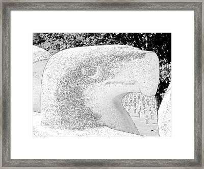 Lorraine Wwii American Cemetery St Avold France Framed Print by Joseph Hendrix