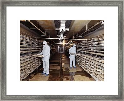 Microbe Fermentation Unit Framed Print by Volker Steger