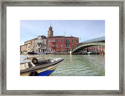 Murano Framed Print by Joana Kruse