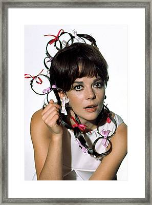 Natalie Wood Framed Print by Everett