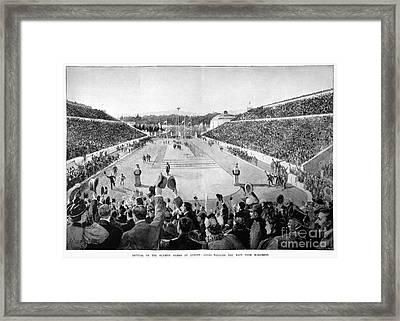 Olympic Games, 1896 Framed Print by Granger