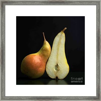 Pears Framed Print by Bernard Jaubert
