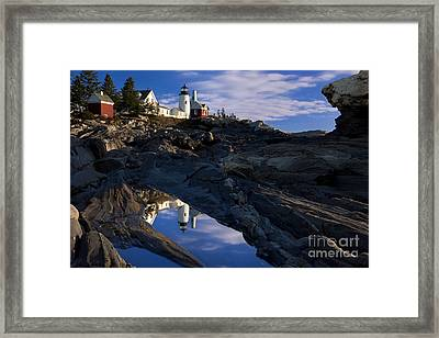 Pemaquid Point Lighthouse Framed Print by Brian Jannsen