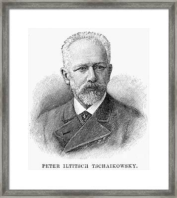 Peter Ilich Tchaikovsky Framed Print by Granger
