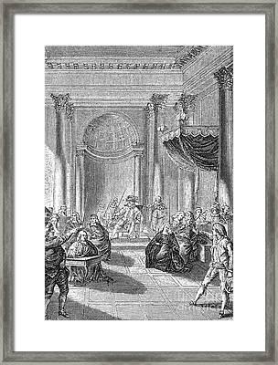 Pierre De Beaumarchais Framed Print by Granger