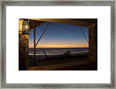 Restaurant Of Ankasy Lodge & Spa Framed Print by Pierre-Yves Babelon