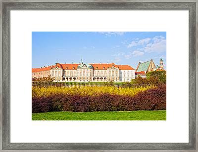 Royal Castle In Warsaw Framed Print by Artur Bogacki