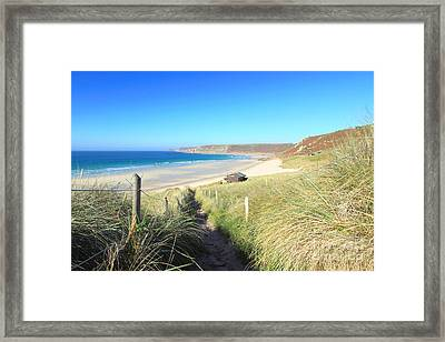 Sennen Cove Framed Print by Carl Whitfield